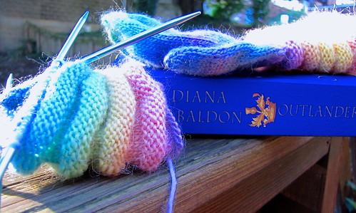 Knitting & Reading 1