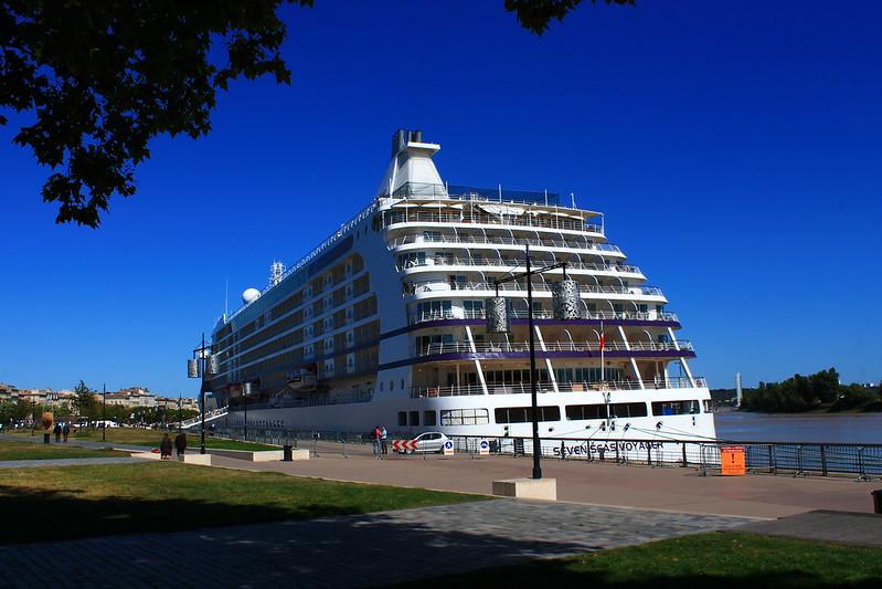 Paquebot Seven Seas Voyager - Bordeaux - 19 septembre 2012