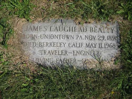 My grandfather grave's site
