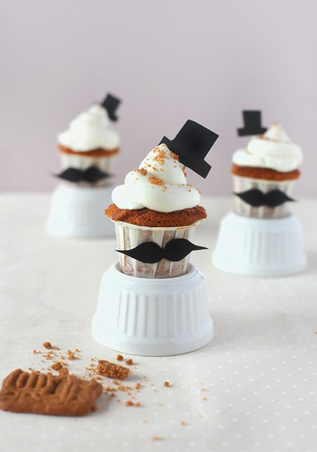 cake toppers hats muffins