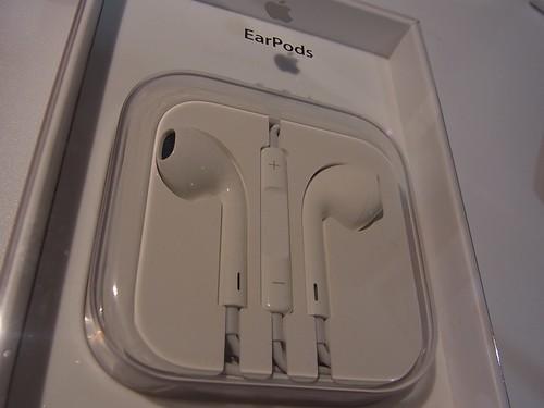 Apple EarPods はiPhone5を買わない人にもオススメしたい!  6