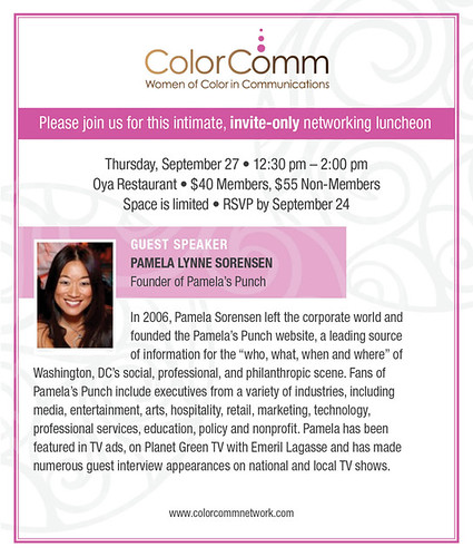 ColorComm luncheon