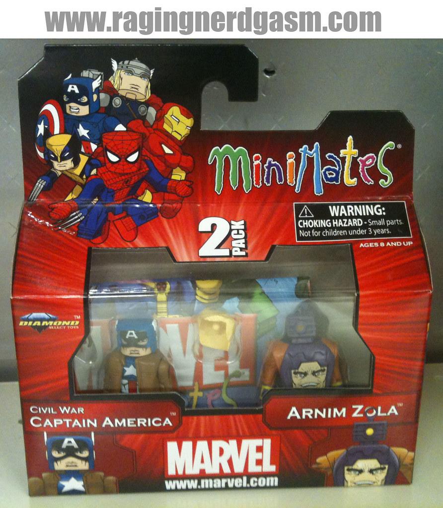Minimates Marvel 004