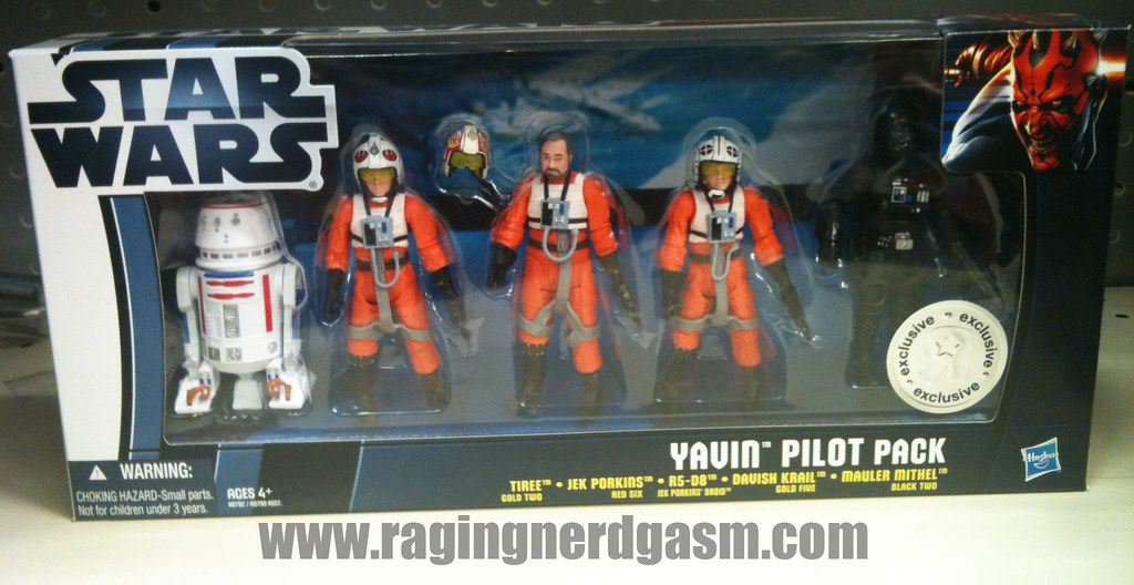 Star Wars Yavin Pilot Pack by Hasbro004