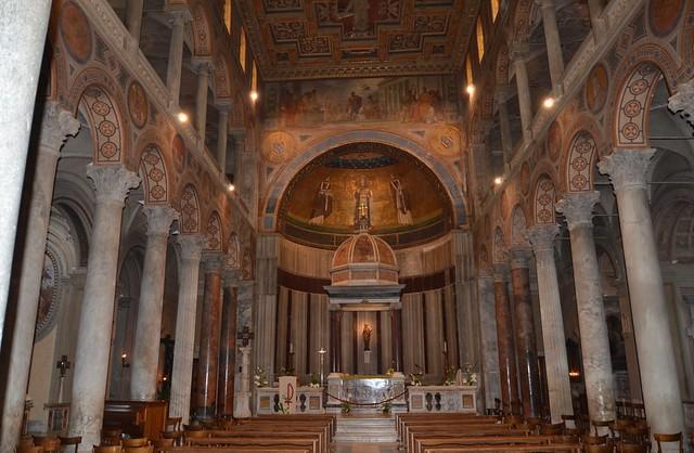 Sant'Agnese fuori le Mura, 4th cent.  OCHj Senare, absid skepp OCHj (2)
