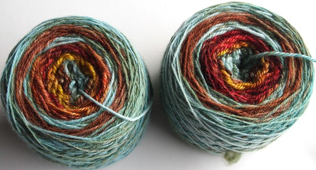 Galactic Melt sock yarn