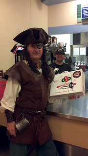 Aye, aye says I...  we be the first Pirates to Board thee KrispyKreme Doughnuts in Middleton WI  ARRrrrr