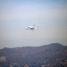 Endeavour Space Shuttle and the Hollywood Sign by intellichick