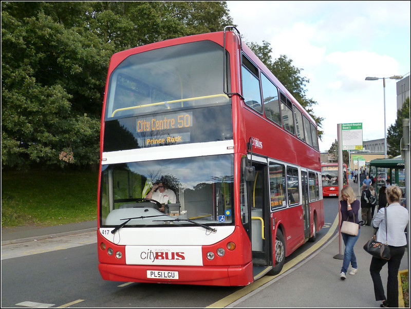 Plymouth Citybus 417 PL51LGU