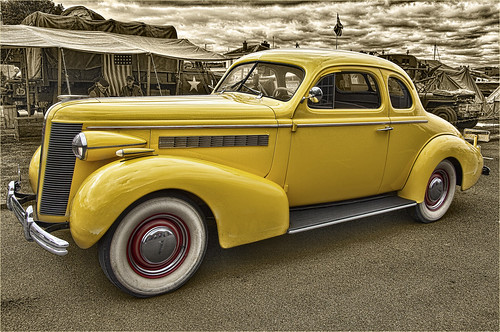 Big yellow Buick