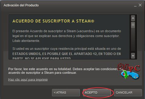 Canjear Codigos Steam 3