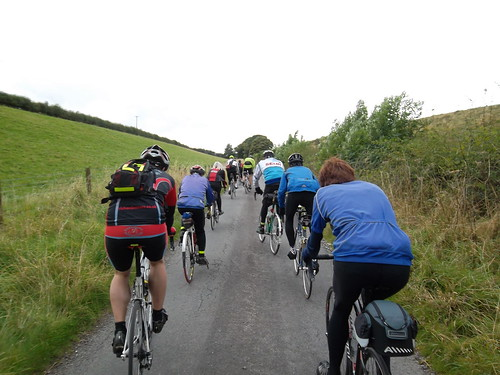 Thixendale climb