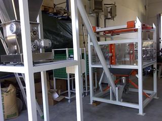 Sistema di estrazione da bigbag, trasporto e dosaggio