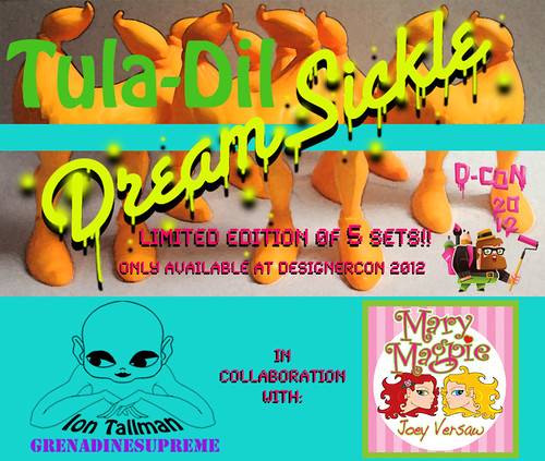 2012 Designercon Exclusive Tula-Dil Dreamsickle Teaser :) by GrenadineSupreme