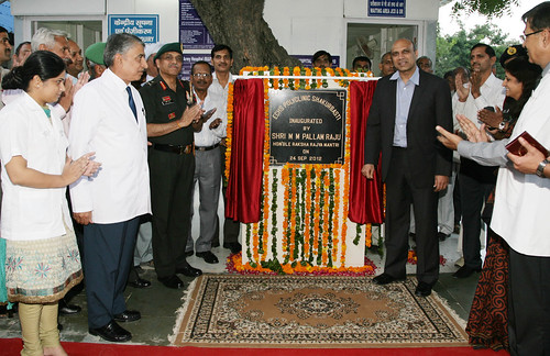 INAUGURATION OF ECHS POLYCLINIC by Chindits