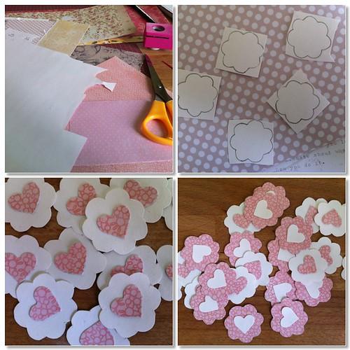Paso a paso decoración papel