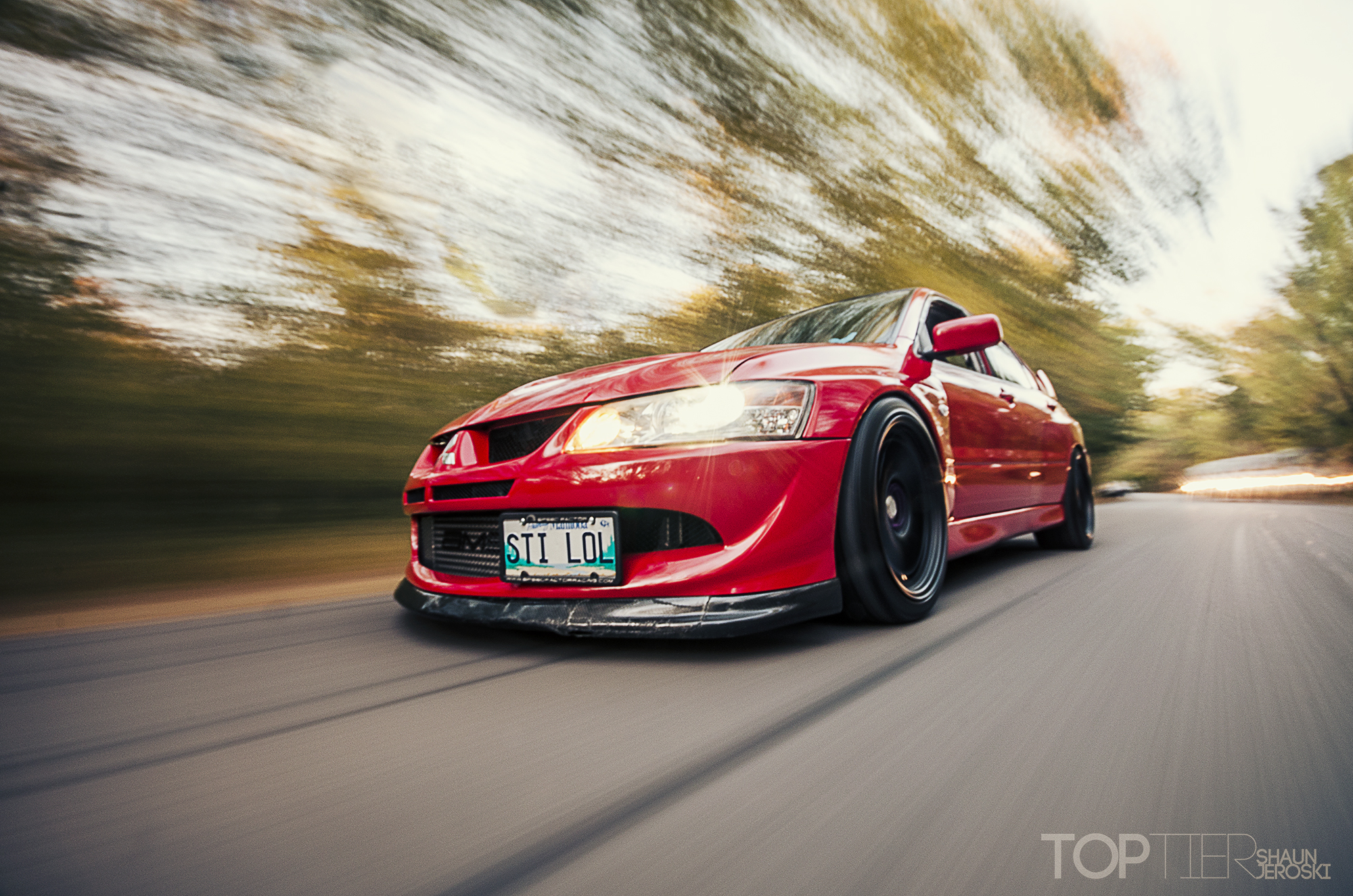 Evo 8 Red - Viewing Gallery