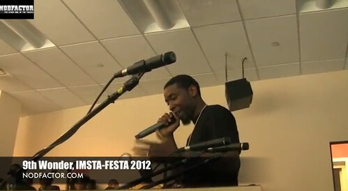 9th Wonder At Imsta-Festa 2012