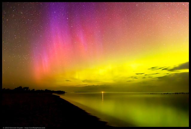 Sleeping Bear Bay Northern Lights