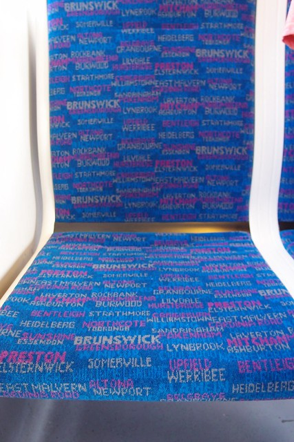 Metro Siemens seat cover trial