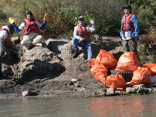 Omaha-Council Bluffs Missouri River Clean-up 9-22-12
