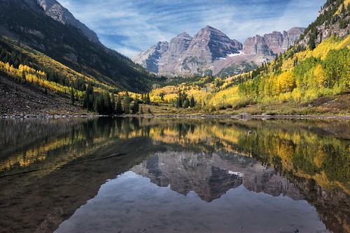 [フリー画像素材] 自然風景, 河川・湖, 山, 風景 - アメリカ合衆国 ID:201210061200