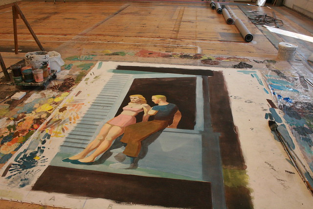 "Painting progress; Edward Hopper's ""A Summer Night"""
