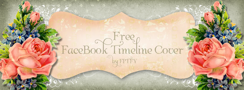 Free Vintage Shabby Facebook Timeline Cover by FPTFY web ex