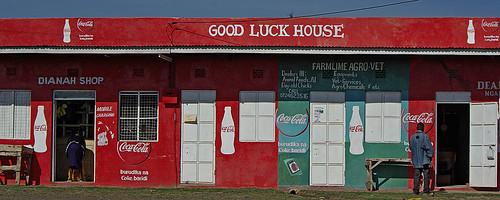 Kenyan shopfront by Sallyrango