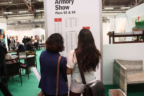 AAP NYC students visit the Armory Show