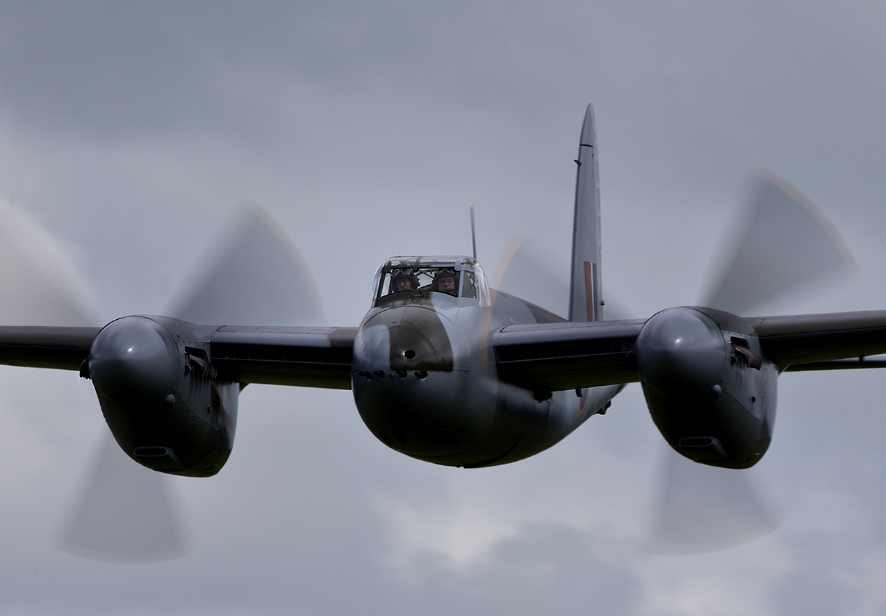 Mosquito Fighter Bomber Flies Again