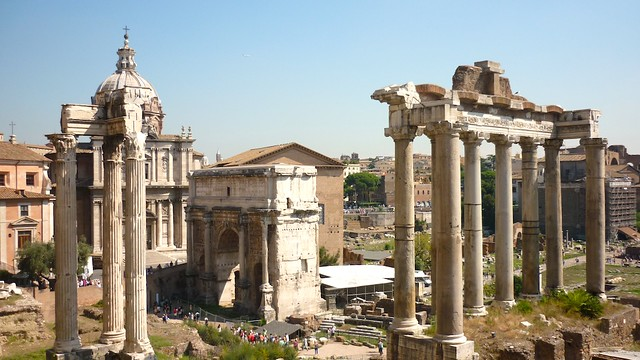 Forum Romanum from Flickr via Wylio