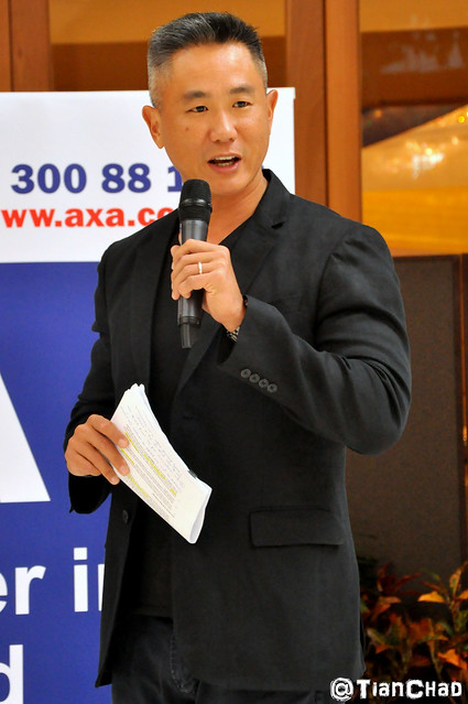 AXA Affin Health for LIFE Big Challenge 2012 - Win cash prize with Allan Wu