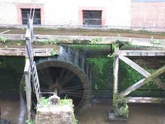 Saarburg water wheel