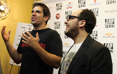 AFTERSHOCK Eli Roth and Nicholas