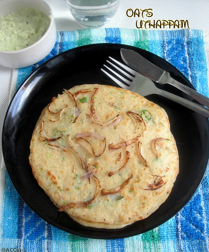 OATS ONION UTHAPPAM