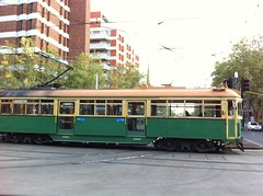 vehicle(1.0), cable car(1.0), tram(1.0), transport(1.0), mode of transport(1.0), passenger car(1.0), rolling stock(1.0), land vehicle(1.0), railroad car(1.0),