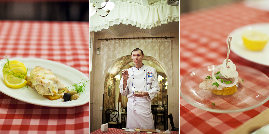 Workshop at restaurant Spotykach