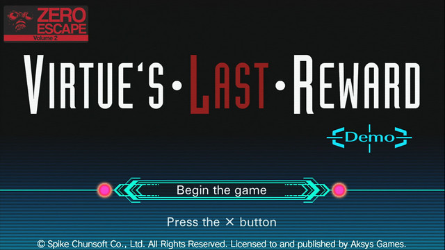 Virtue's Last Reward on PS Vita - 10