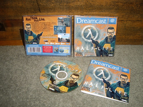 Closed Half Life for Dreamcast