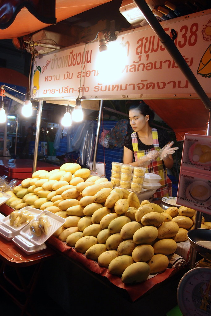 Must Try Bangkok Food: Mango Sticky Rice
