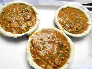 Blushing-Cream Roast Chicken & Red Curry Pot Pie11