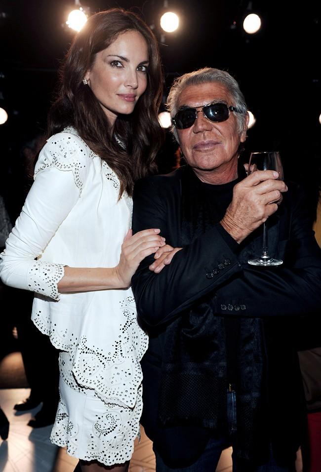 z4 Eugenia Silva in Roberto Cavalli - Roberto Cavalli @ Roberto Cavalli Spring Summer 2013 Fashion Show 24-09-2012 Milan