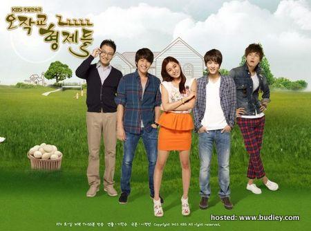 barisan pelakon Ojakgyo Family