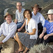 From left, Los Alamos scientists Joel Berendzen, Ben McMahon, Mira Dimitrijevic, Nick Hengartner and Judith Cohn