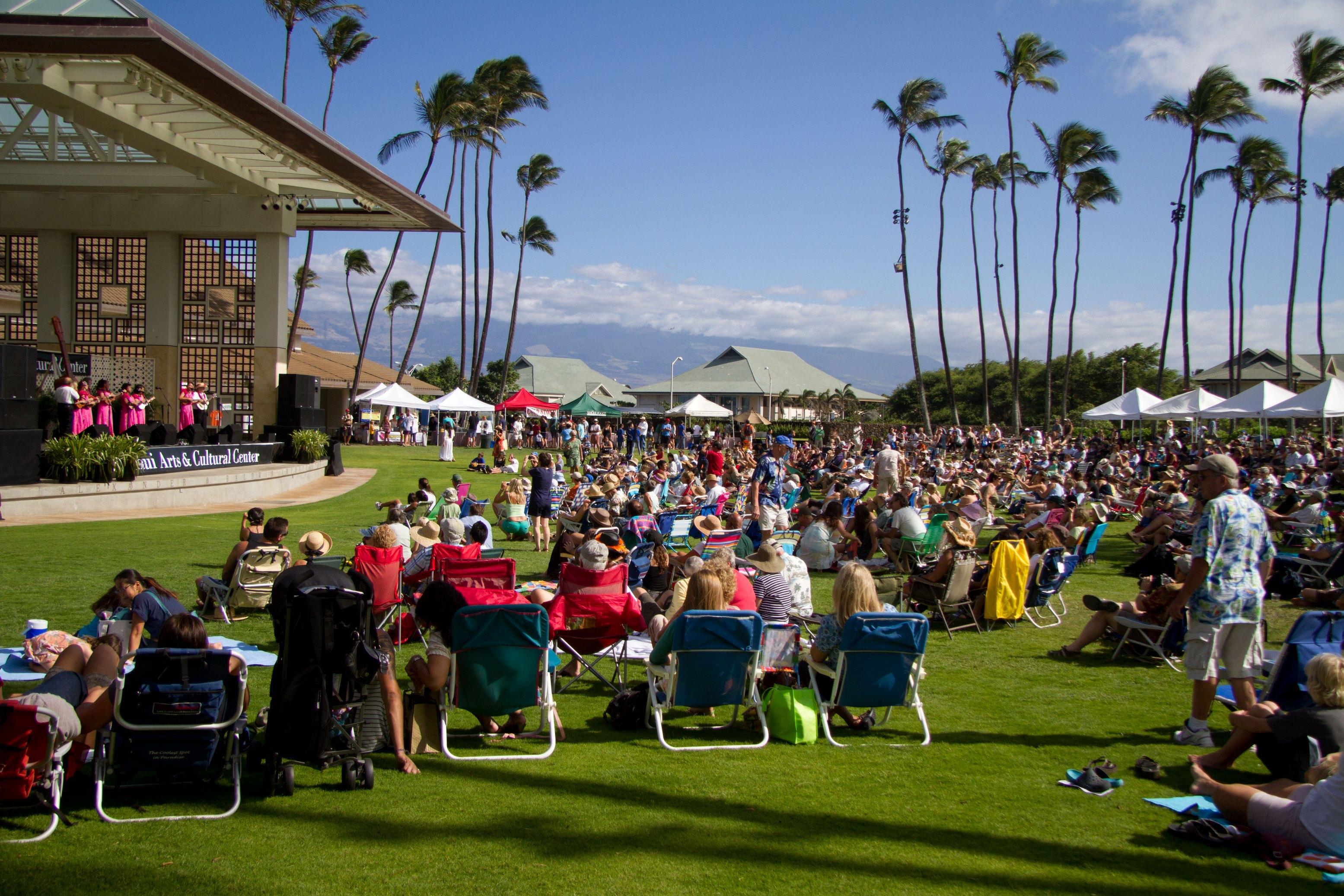 Maui 'Ukulele Festival. Photo credit: Aubrey Hord