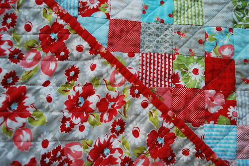 Ruby Quilt - Backing