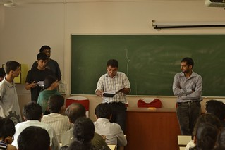 Prof. Imran & Deven Shah, Iris Business, taking stock of NGO projects and the students interest in them