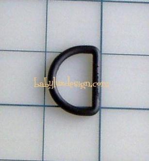 black d-ring