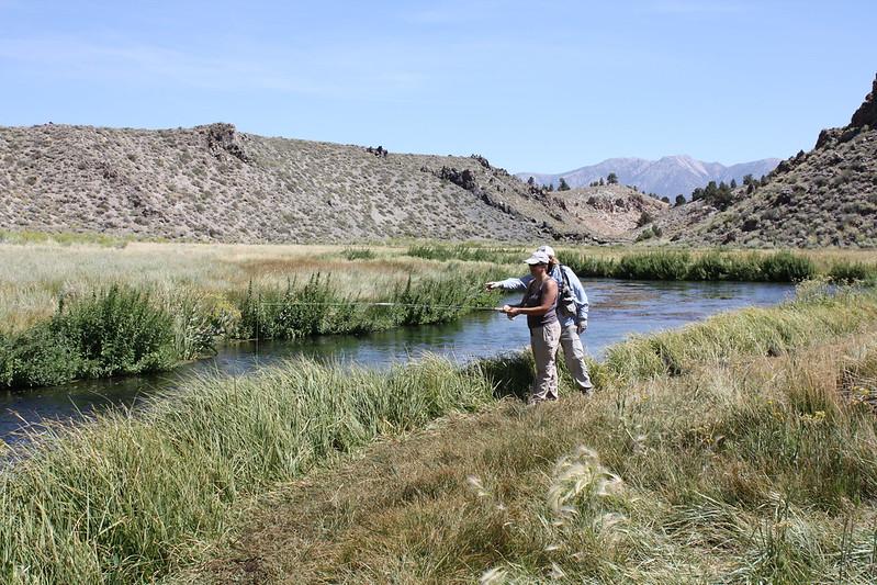 Mammoth fly fishing hot creek for Mammoth fishing report